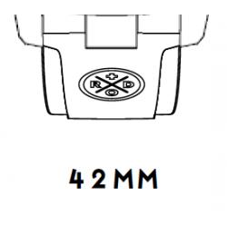 i42 Rubber strap