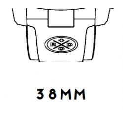 i38 Rubber strap